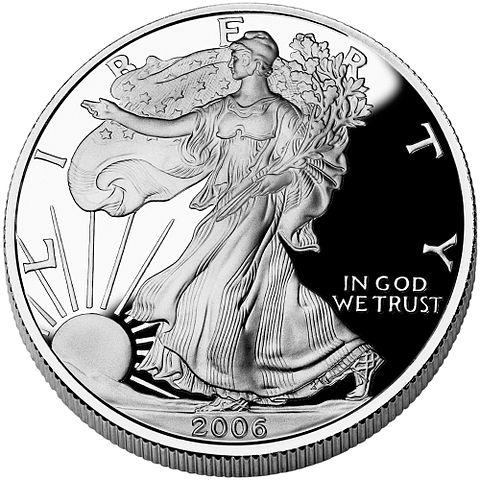 American Silver Eagle Obv