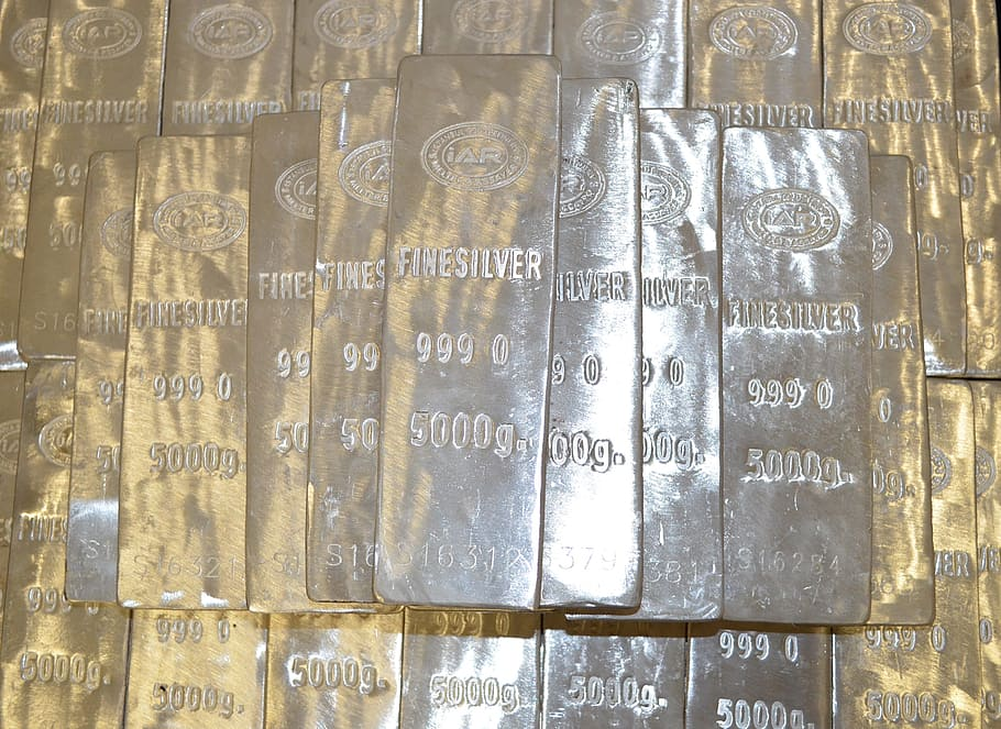 gold siver bars